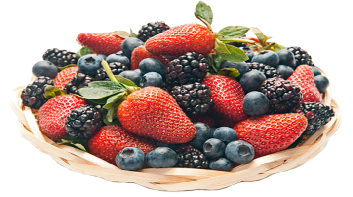 Ароматные ягоды в собственном соку