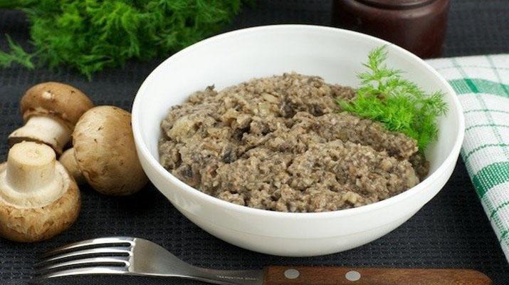 Икра из грибов «Царское угощение»
