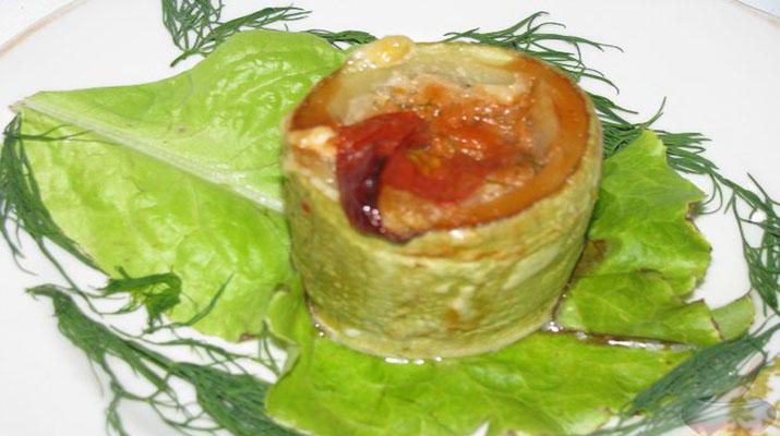 Маринованная закуска из кабачков тещин язык