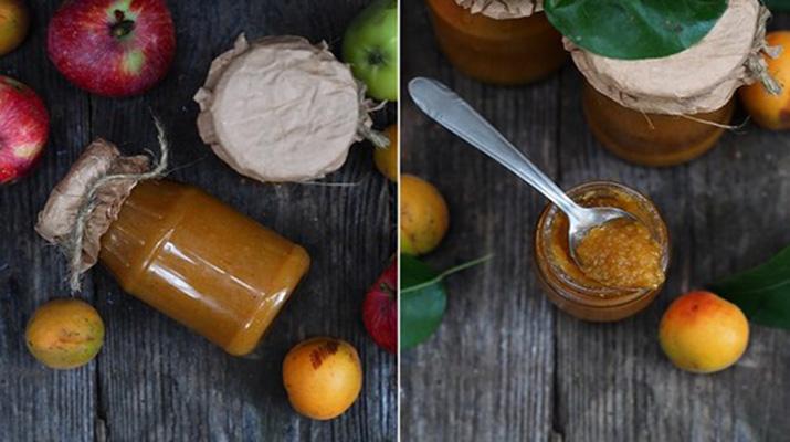 Фруктовый кетчуп из яблок и абрикосов