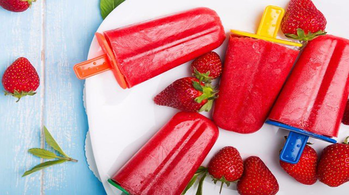 Готовим домашний фруктовый лед
