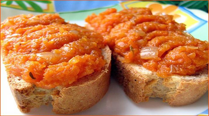 Маринованная морковка целиком