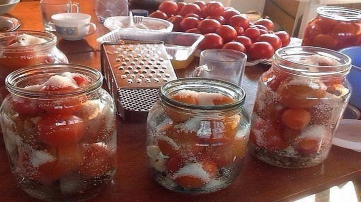 Засолка помидоров на зиму