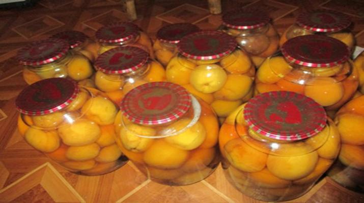 Персиковое варенье «Нежность»