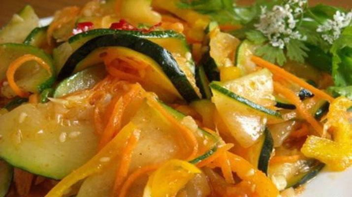 Рецепт консервированных кабачков на зиму