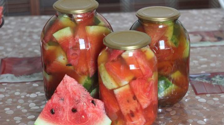 Классический рецепт засолки арбузов на зиму