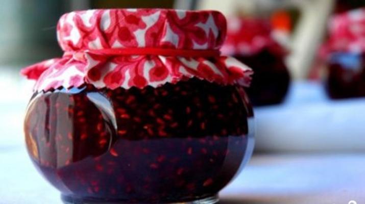 Варенье из малины на зиму пятиминутка