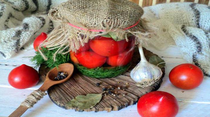Вкусный рецепт консервированных помидоров без уксуса