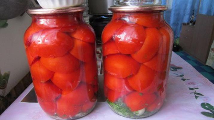 Быстрые маринованные помидоры за 30 минут