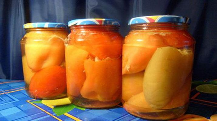 Фаршированный болгарский перец на зиму
