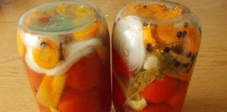Помидоры с морковью на зиму