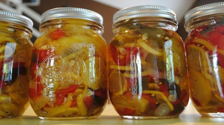 Салат из кабачков на зиму без стерилизации по-монастырски