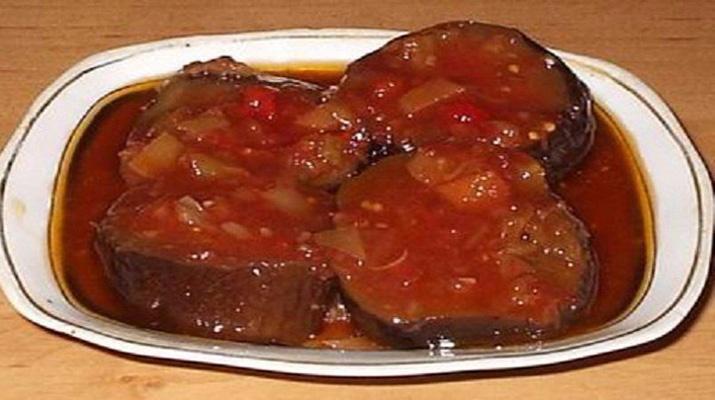 Маринованные баклажаны в томате за 30 минут!