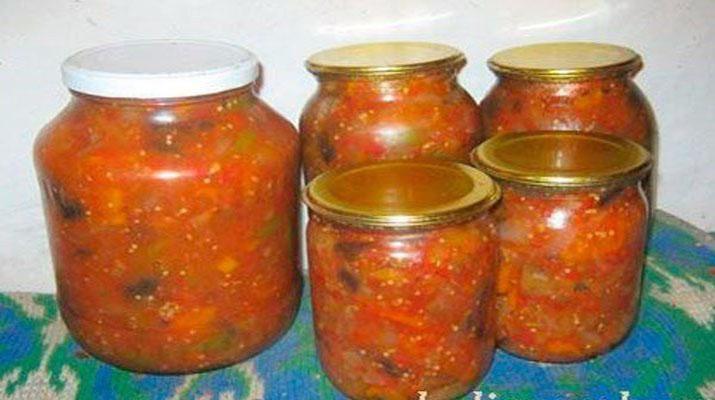 Ассорти из овощей на зиму без стерилизации и уксуса