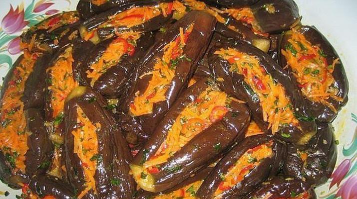 Закуска из баклажанов «Отменная»