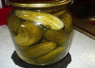 Лучший рецепт хрустящих соленых огурцов