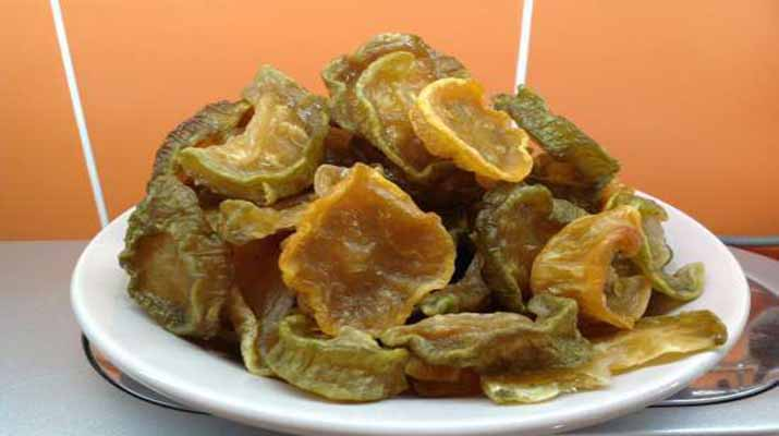 Кабачки вяленые — ароматно и вкусно