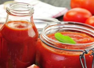 Консервированные помидоры в томатной пасте
