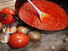 Маринованные помидоры с крыжовником на зиму