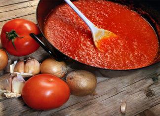 Томатная паста из помидоров на зиму