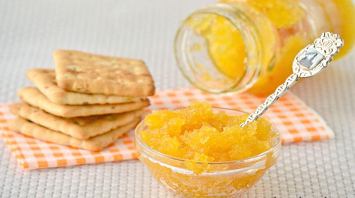 Кабачковое варенье с апельсином и лимоном