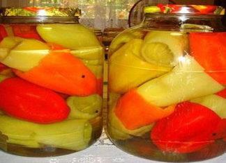 Болгарский перец на зиму без стерилизации