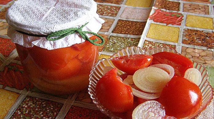 Консервированные помидоры в масле