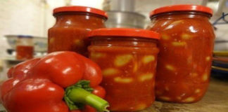 Лечо из кабачков и помидоров на зиму