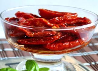 Консервированные сушеные помидоры