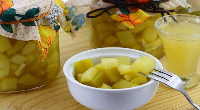 Кабачки с соком ананаса на зиму